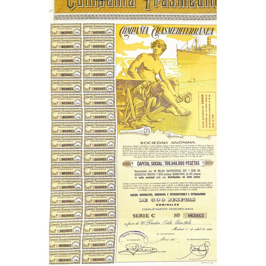 1969 - TRANSMEDITERRANEA COMPANIA