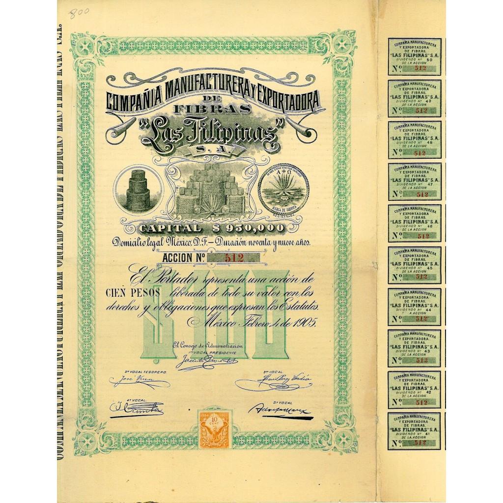 1905 - LAS FILIPINAS - COMP....