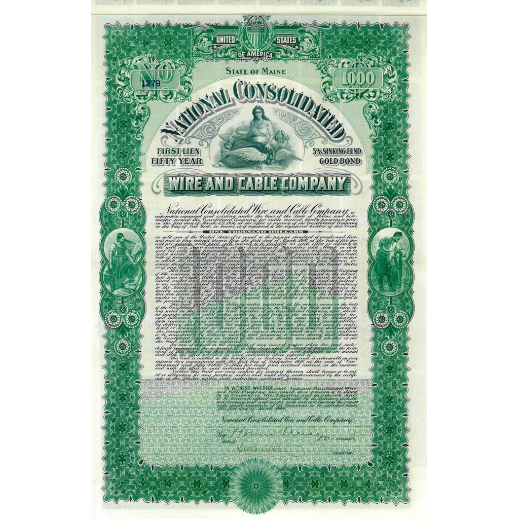 1910 - NATIONAL CONSOLIDATED WIRE AND...