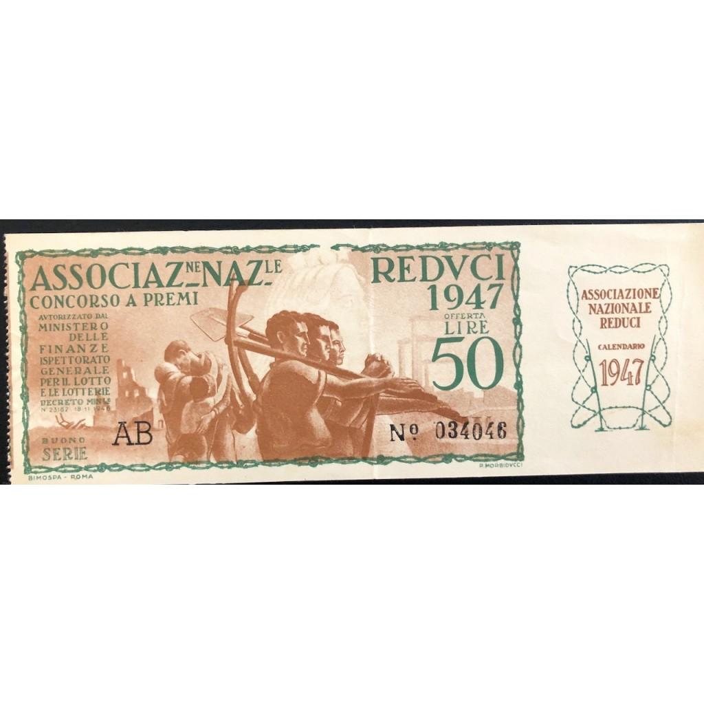 1947 - ASSOCIAZIONE NAZIONALE REDUCI...