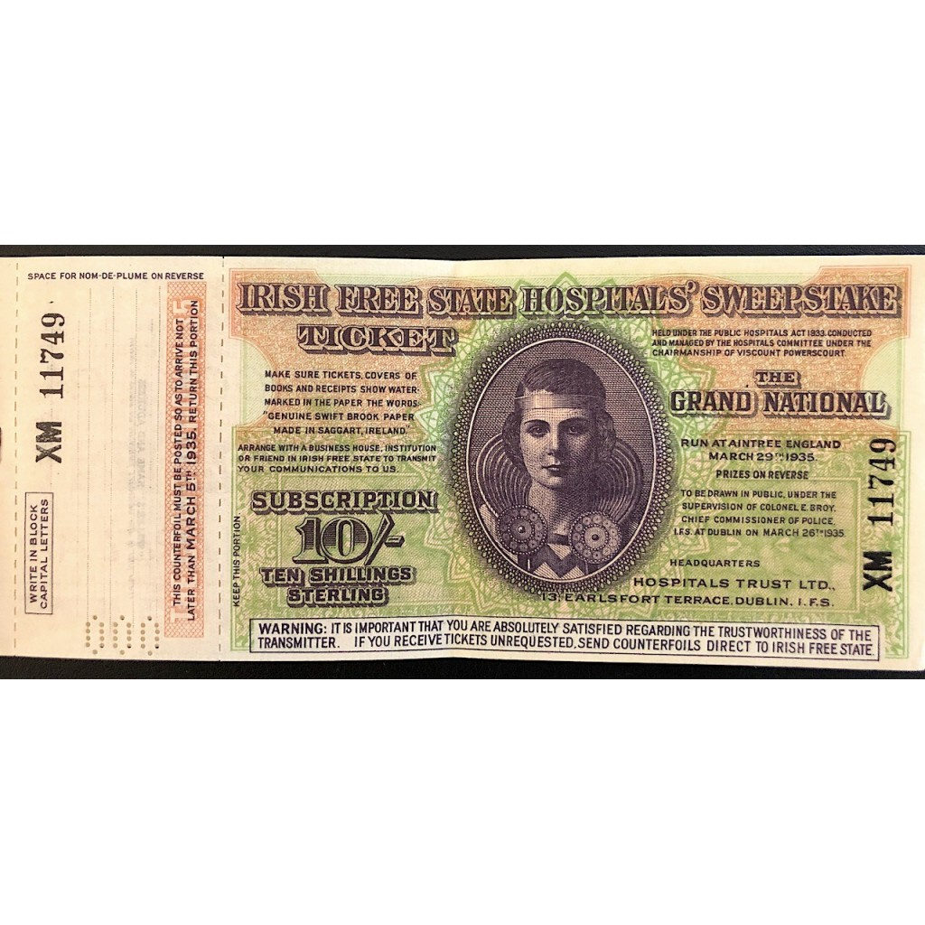 1933 - IRISH FREE STATE HOSPITAL...