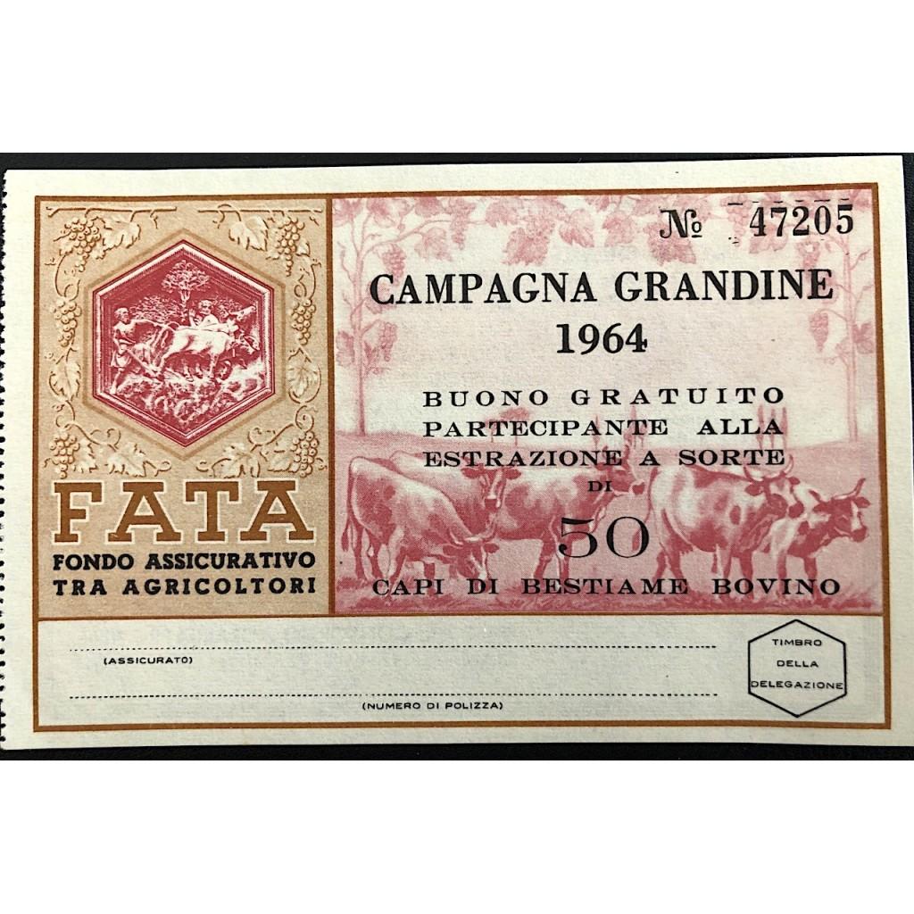 1964 - FATA FONDO ASS.VO AGRICOLTORI...