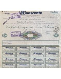 1961 - LA RINASCENTE - 500...