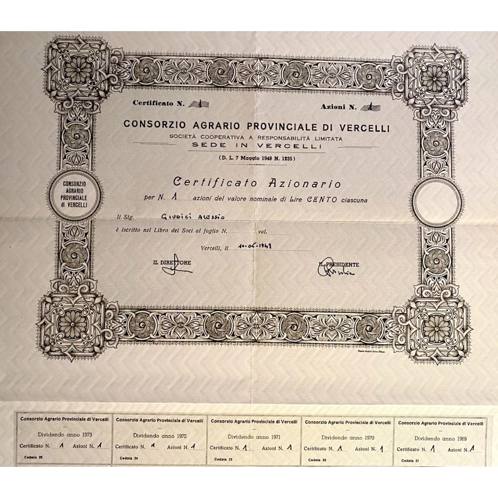 1949 - CONSORZIO AGRARIO PROVINCIALE...
