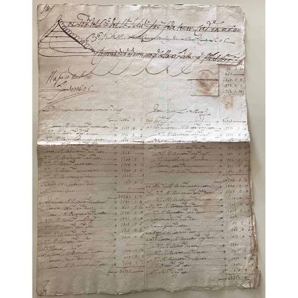 BANCO DEI POVERI - MADREFEDE 1761