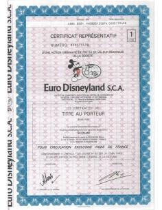 EURO DISNEY S.C.A. - 1 AZIONE - 1983