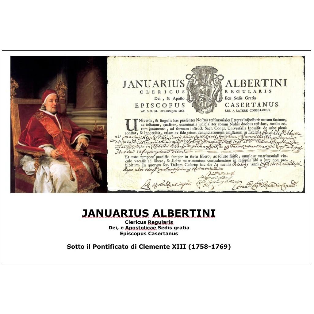 JANUARIUS ALBERTINI - PONT. PAPA...