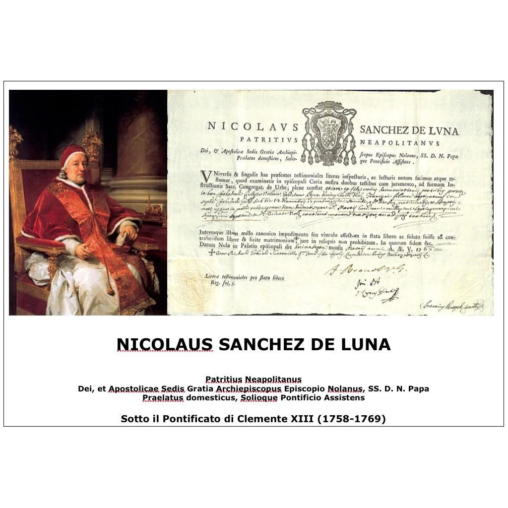 NICOLAUS SANCHEZ DE LUNA  - PONT....