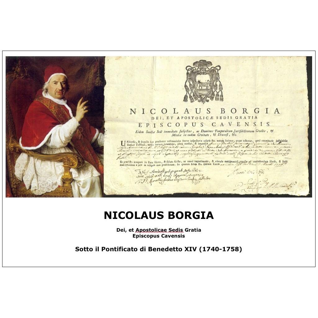 NICOLAUS BORGIA - PONT. PAPA...