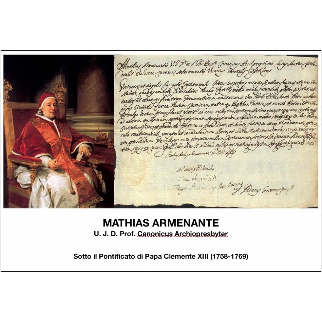 MATHIAS ARMENANTE - PONT. PAPA...