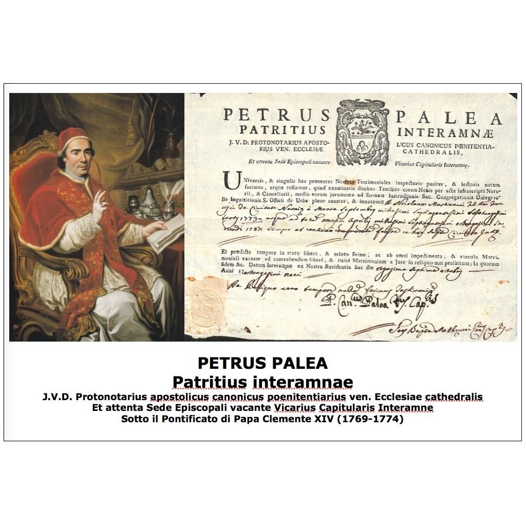 PETRUS PALEA Patritius interamnae -...