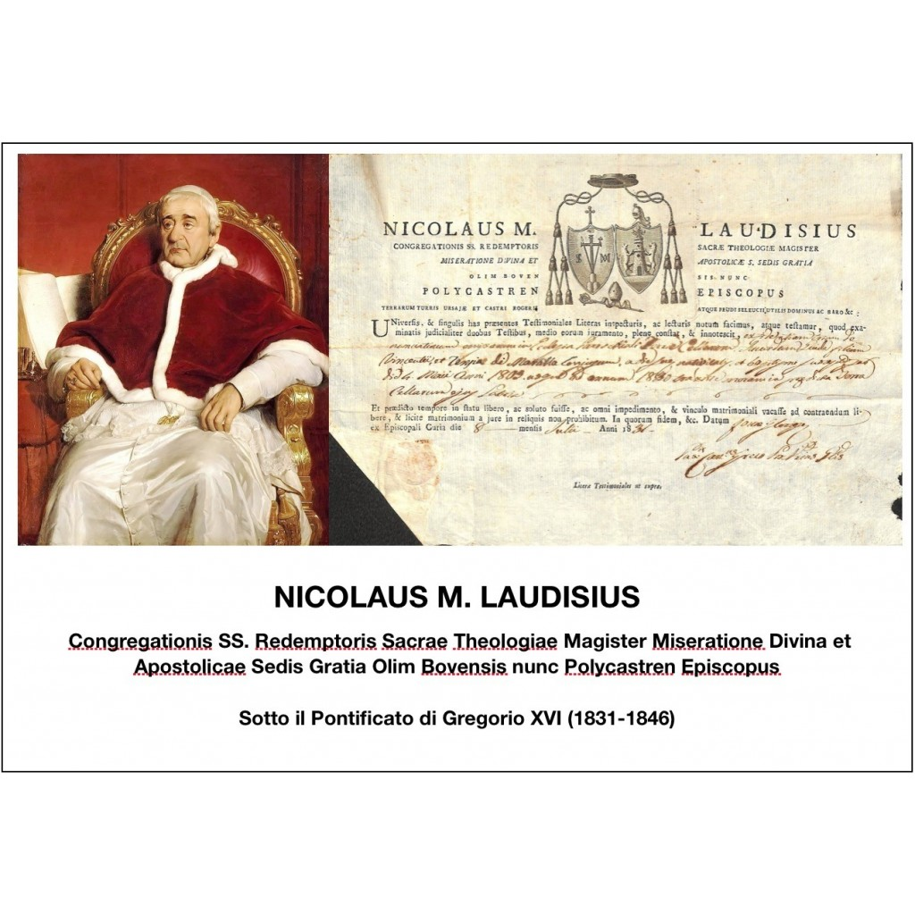 1831 - NICOLAUS M. LAUDISIUS - PONT....