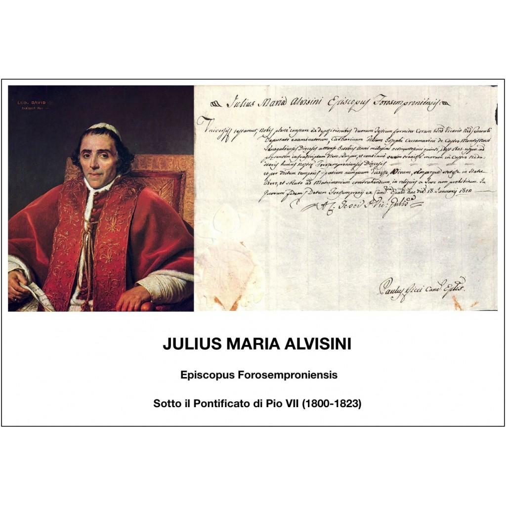 1812 - JULIUS MARIA ALVISINI - PONT....
