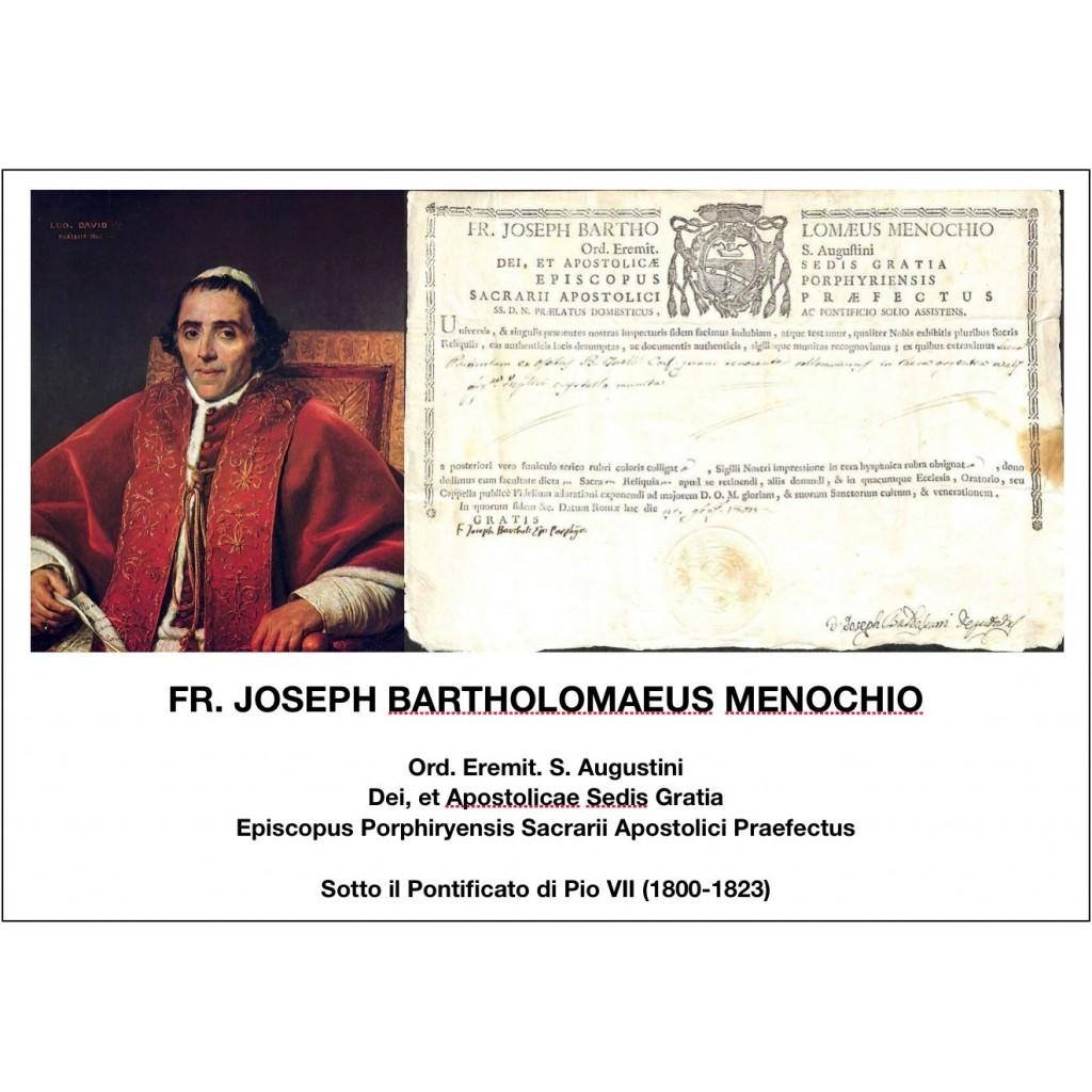1802 - FR. JOSEPH BARTHOLOMAEUS...
