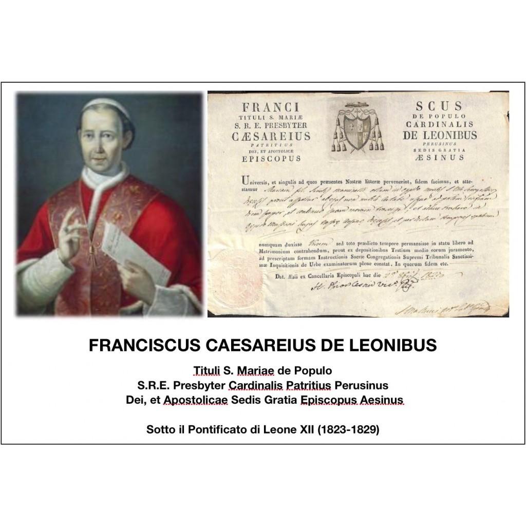 1827 - FRANCISCUS CAESAREIUS DE...