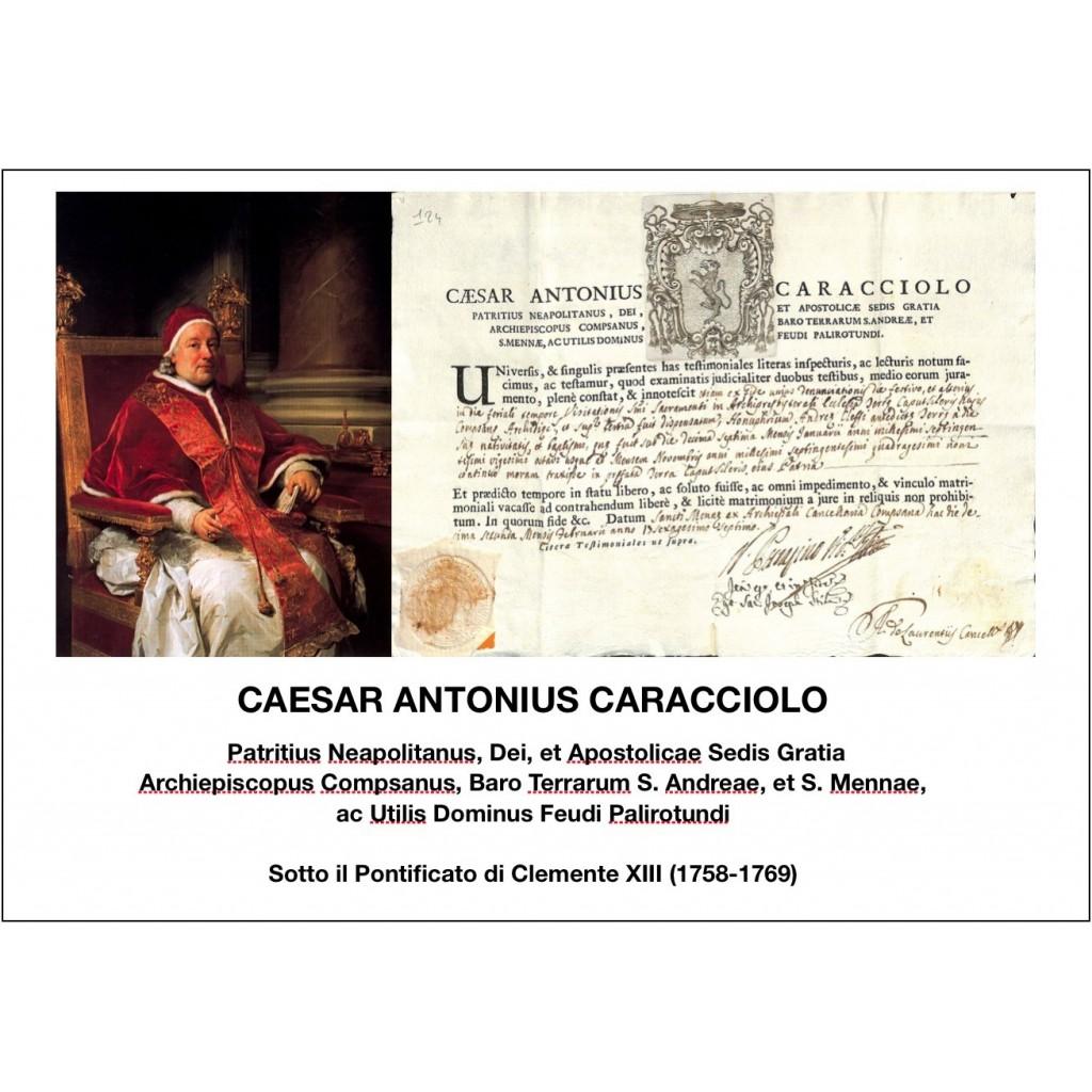 1767 - CAESAR ANTONIUS CARACCIOLO -...