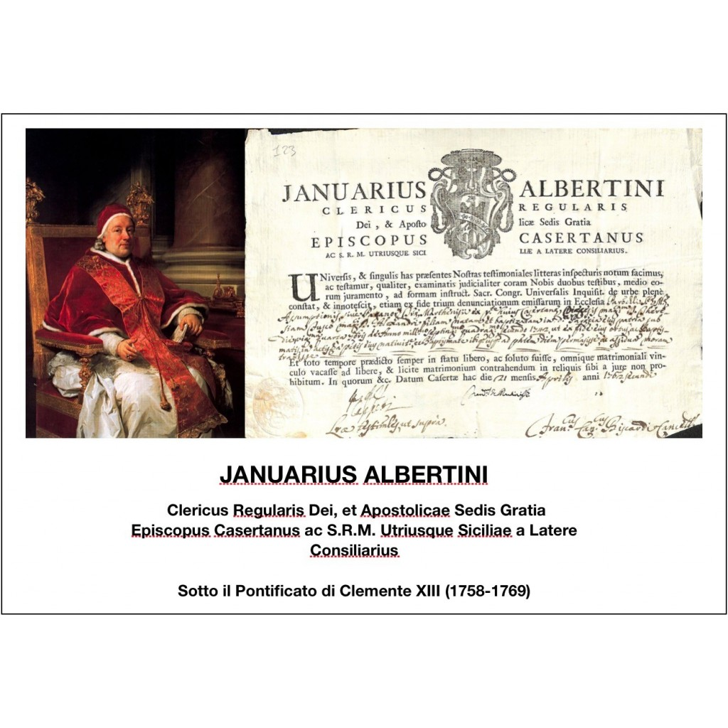 1762 - JANUARIUS ALBERTINI - PONT....