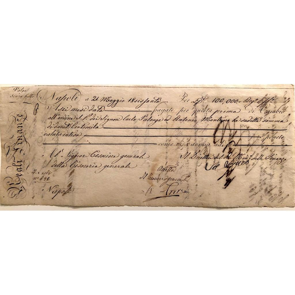 1860 - CAMBIALE REALI FINANZE -...
