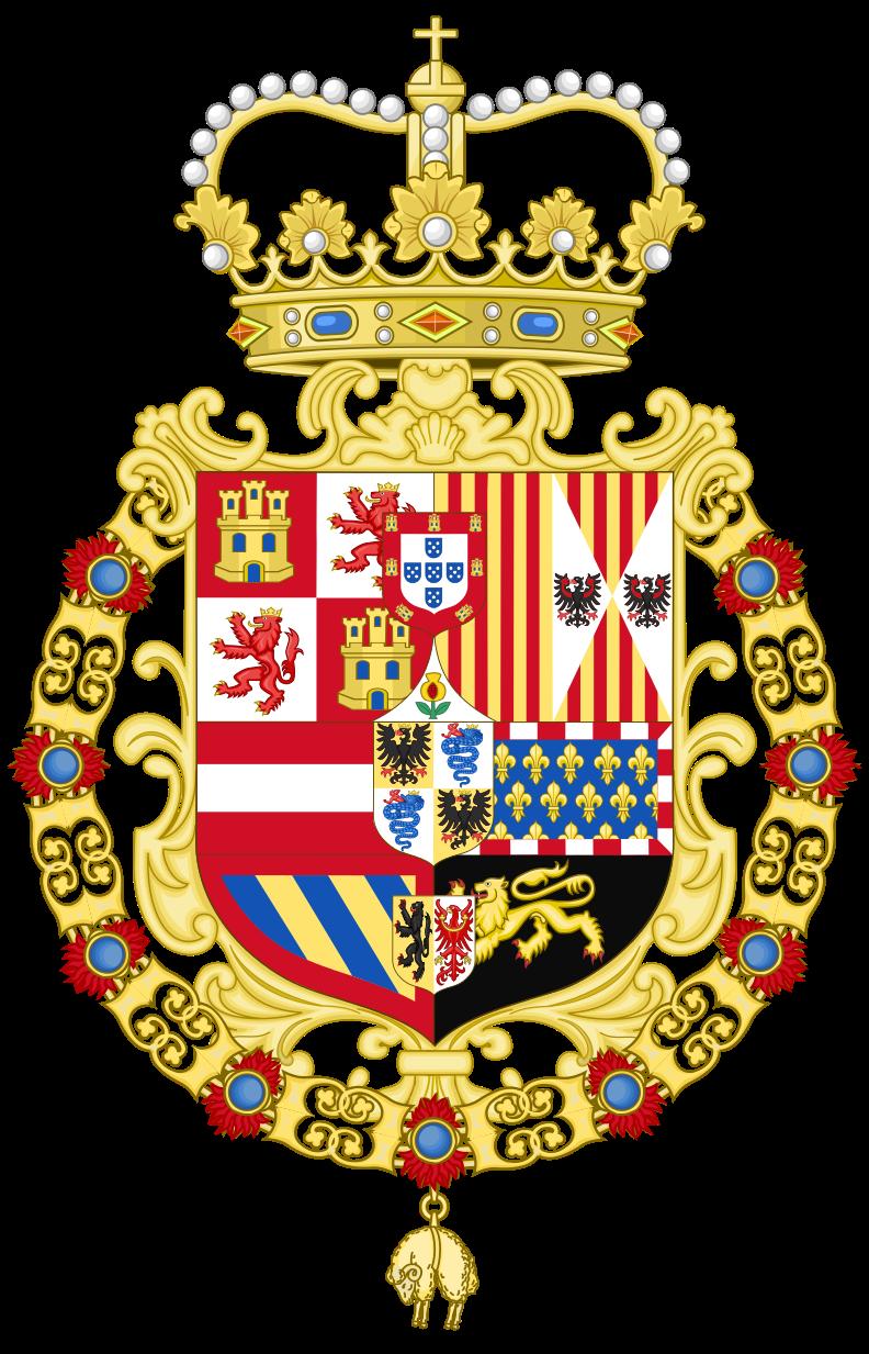 Stemma del Ducato di Milano durante il periodo spagnolo (1580-1700)