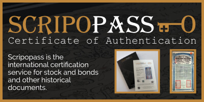 Scripopass • Certificate of Authentication COA